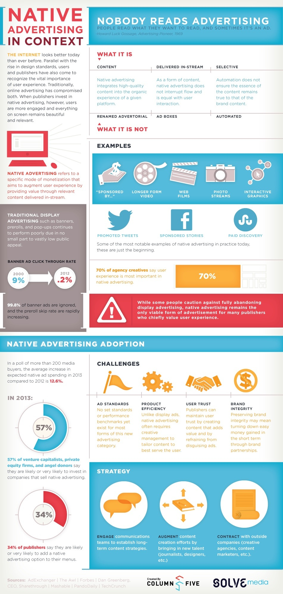 solve media native display advertising Infographic 2013