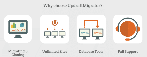 UpdraftPlus WordPress migration