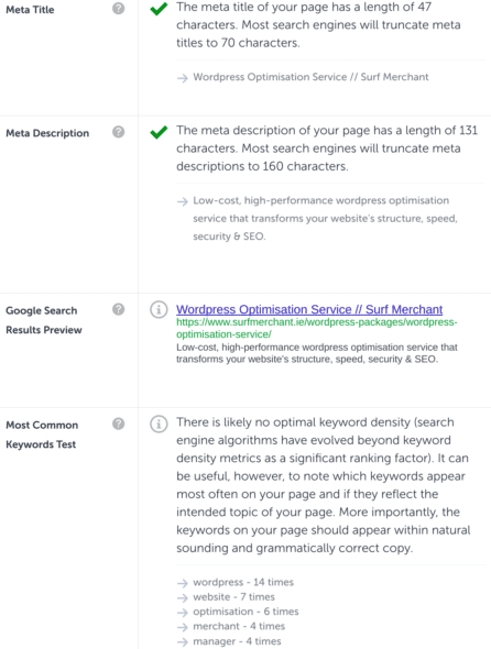 WordPress Meta Title Meta Description Testing
